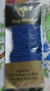 Anchor Rug Wool For Rug Making, Various Colours BNIP