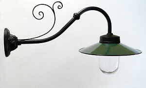 Hoflampe Außenleuchte Gartenlampe historische Außenlampe Wandlampe Model Saverne