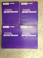 2006 Hummer H3 H 3 Service Repair Shop Workshop Manual Set New GM Factory