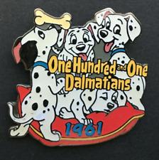 101 Dalmatians dated 1961Authentic Disney pin