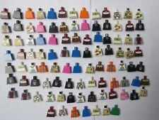 Lego  Job Lot 98 Toso Body For Minifigure Figure Series Boy Girl Plain & More