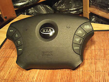 04 05 06 Kia Amanti Steering Wheel Airbag with Controls Black Factory OEM Nice