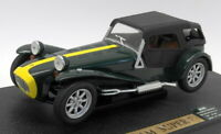 Anson 1/18 Scale Diecast A30317-W Lotus Super Seven Green / Yellow Caterham 1973