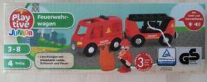 Playtive Junior - Feuerwehrwagen für BRIO / Eichhorn Holzbahn - NEU & OVP