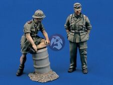 "Verlinden 1/35 ""Afrika Korps Party"" German DAK Soldiers WWII (2 Figures) 950"