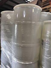 37 gallon Barrel Drum Plastic Water RAIN White Barrels drum container free ship