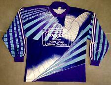 Adidas Ancien Maillot Gardien Porté XXL Années 80 OM Vintage France Goal Shirt