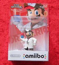 El dr. mario amiibo personaje, Super Smash Bros. Collection no. 42, nuevo-en su embalaje original