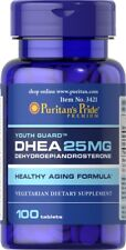 Puritan's Pride 25mg 100 Tablets DH-EA Weight Loss Building Muscle Burning Fat