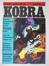 1x Comic - Kobra Nr. 42 - Z. 2/2-