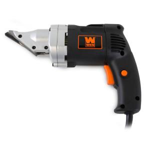 18-Gauge Electric Metal Shear Cutter Swivel Head Cutting Variable Speed Blade