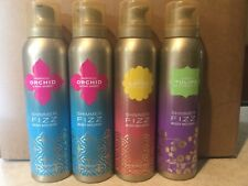 4 Bath & Body Works Shimmer Fizz Body Mousse Orchid Lotus & Tulip Scents