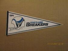 USFL Portland Breakers Vintage Defunct Circa 1980's Logo Football Pennant