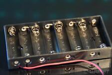 Batteriehalter 8x AA 1,5V Batterie 12V Batteriegehäuse Batteriefach Mignon Box