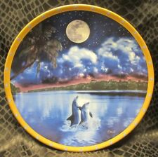 Moonlight Enchantment Barry Chall Lenox Collector Plate ©1995 Moonlight Fantasy