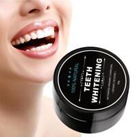 Natural Teeth Whitening Powder Organic Activated Charcoal Bamboo Teeth Whiten GA