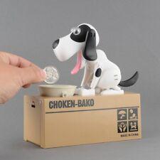 "Children Toy ""Eating Dog"" Style Piggy Bank - Money Box - Saving Coin - Bank Box"