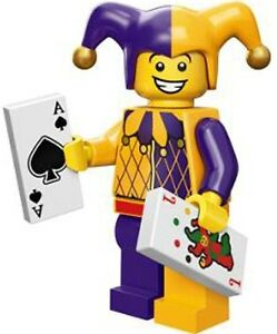 LEGO Minifigures Series 12 Jester Minifig - suit castle set