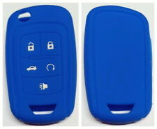 BLUE CHEVROLET 5 BUTTONS FLIP KEY COVER FOR HOLDEN VF COMMODORE