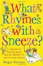 Very Good, What Rhymes With Sneeze?, Roger Stevens, Book