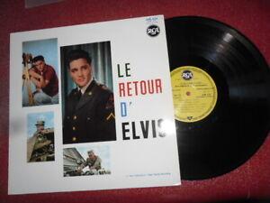 """ELVIS PRESLEY - """"LE RETOUR D'ELVIS"""" - 33 TOURS - EDITION LIMITEE ET  NUMEROTEE"""