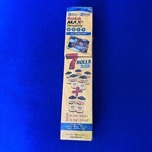 Kodak MAX 400 Versatility Film 35mm Color 7 Rolls 5 - 24 & 2 36 Expired 12/2006