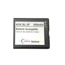 Batería Nueva BL5F para NOKIA N95 N96 E65 N78 N93I 6290 6210 6710 NAVIGATOR