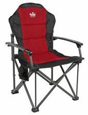 Royal Commander Padded Camping Armchair Chair Burgundy - RRP £59.99 2018 Model.