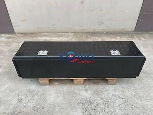 BLACK Aluminium Tool Box Trailer Camper-van Caravan Camping Toolbox 1700x400x400