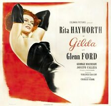 GILDA MOVIE POSTER Rita Hayworth RARE HOT VINTAGE 2