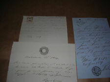LOMBARDO VENETO 1859 Fiscali Carta Bollata Ricev. GAZZETTA UFFICIALE occasione!!