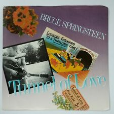"""BRUCE SPRINGSTEEN Tunnel Of Love / Two For The Rd 3807663 7"""" 45rpm Vinyl VG++ PS"""