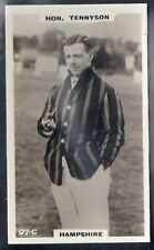 PHILLIPS-CRICKET ERS BROWN BACK F192-#097c- HAMPSHIRE - TENNYSON