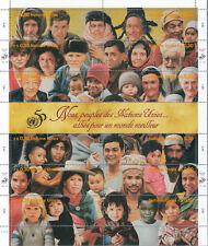 UNO Genf Zusammendruckbogen 273-84 gestempelt