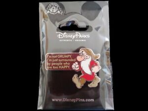 Disney Trading Pin I'm not Grumpy Just Surrounded by People that are Too Happy
