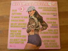 LP RECORD VINYL PIN-UP GIRL ALLEMAAL HOLLANDS NO 3 TELSTAR 1977