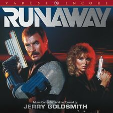RUNAWAY Soundtrack CD (Score) by Jerry GOLDSMITH *SEALED* Tom Selleck, KISS!