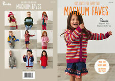 PANDA MAGNUM FAVES #305 KIDS KNITS FOR EVERYDAY PATTERN BOOKLET