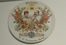 More details for 1902 king edward vii borough of st helens wall hanging plaque 16.5 cm