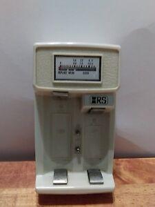 Micranta Battery Checker Vtg Radio Shack Japan Used Works