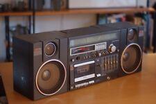 National Panasonic AM/FM Stereo, Casette, Boombox, Vintage, Retro, UV meter