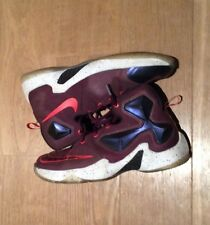b112150cad4d Nike Lebron XIII 13 Basketball Shoes Mulberry Size 7.5 Used