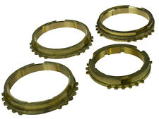 Ford 4 Speed Rocket Type E Gearbox Synchro Baulk Ring Set Brass Synchromesh