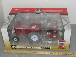 Cockshutt 1900 Wheatland and White 5400 4-Row Planter Firestone Edition NIB 1:16