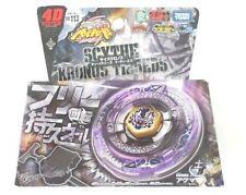 Takara Tomy Beyblade Metal Fusion bb-113 4d Scythe Kronos t125eds + Lanzador