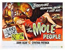 Incorniciato Retrò MOVIE POSTER-il popolo TALPE (replica stampa HORROR CINEMA FILM)