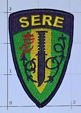 US Navy SERE Patch Survival Evasion Resistance Escape Knife Military Badge