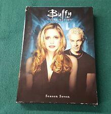 Buffy the Vampire Slayer Season 7 Seventh 7th Seven S7 Complete DVD Box Set