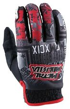 2XL XXL Metal Mulisha Broadcast Gloves Honda Red Black MX Motorbike BMX