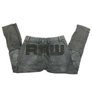 G-Star Raw Elwood 5620 3D Slim Studs Stretch Denim Jeans - Men's 40x32 (40x30)